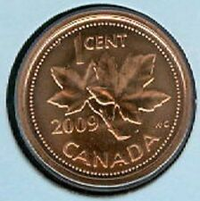 2009 MS Penny 1 One Cent 09 Canada MAGNETIC BU Coin UNC