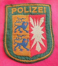 Polizei BGS Uniform Abzeichen Badge Police S Holstein
