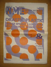 NME 1985 SEP 28 BOBBY WOMACK PREFAB SPROUT CHILI PEPPER DRASTIC