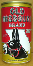 OLD MISSOURI BEER es CAN w/ Donkey, Pilsner Philadelphia, PENNSYLVANIA 1986 1/1+