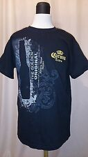 Corona Extra The Golden Original, Riviera Maya Mexico Black T Shirt Size Small