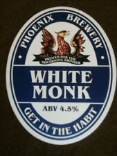 BEER PUMP CLIP - PHOENIX WHITE MONK