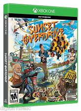 Sunset Overdrive Microsoft Xbox One Brand New Factory Sealed Fast Shipping