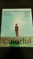COLORFUL EDICION DELUXE BLU-RAY + 2 DVD + LIBRO KEIICHI HARA SEALED NEW NUEVO!