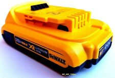 (1) New GENUINE Dewalt 20V DCB203 2.0 AH MAX XR Battery 20 Volt For Drill, Saw