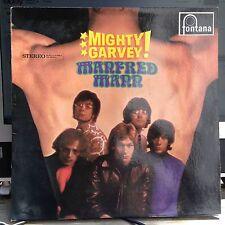 LP Manfred Mann  Mighty Garvey   FONTANA D/NL