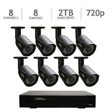 Q-See 8 Channel HD 720p Security System with 2TB HDD and 8 720p Cameras