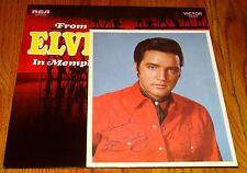 ELVIS FROM ELVIS IN MEMPHIS ORIGINAL LP WITH BONUS PHOTO AND INSERT 1969