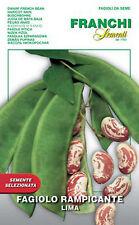 Semi/Seeds FAGIOLO Rampicante Lima