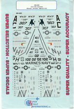 1/48 SuperScale Decals Navy Marine F/A-18C Hornet F-18C VFA-37 VFA-94 VMFAT-101
