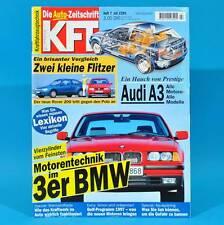KfT Kraftfahrzeugtechnik 7/1996 Audi A3 VW Golf Fiat Marea Rover 214i VW Polo 75
