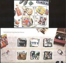 GB 2006 Beatles/Music/Musicians/Entertainment/Personalities 6v + m/s Pack n43515
