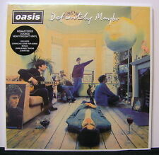 OASIS 'Definitely Maybe' Remastered Gatefold VInyl 2LP NEW & SEALED