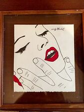 Andy Warhol,original,drawing, signed and estate stamp !