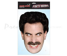 Borat Celebrity Character Face Mask Fancy Dress Party Face Mask