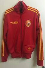 Team Spain Adidas FIFA World Cup Jacket Zip Up Track Soccer Espana Size XS