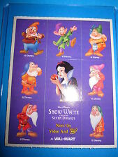 PROMO WALL-MART VERY RARE 9 STICKERS SET PROMOTIONNAL FOR DVD PRE-ORDER