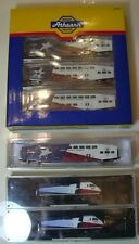 ATHEARN N SCALE DALLAS TRINITY RAILWAY EXPRESS (TRE) SET