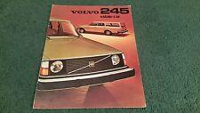 1975 VOLVO 240 245 ESTATE - UK BROCHURE