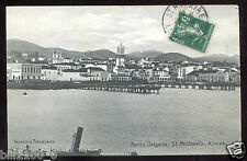 cpa. Portugal . Azores .Acores .  St-Michael's . 1914