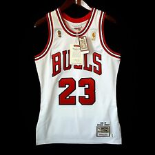 100% Authentic Michael Jordan Mitchell Ness 96 97 Finals Bulls Home Jersey 36 S