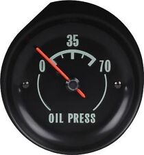 1968 - 1971 Corvette Oil Pressure Gauge. New GM Restoration