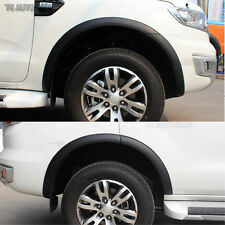 Matte Black Fender Flares Wheel Arch 3 Inch  Ford Everest SUV 2.2 3.2 2016 17