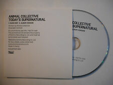 ANIMAL COLLECTIVE : TODAY'S SUPERNATURAL ♦ CD SINGLE PORT GRATUIT ♦