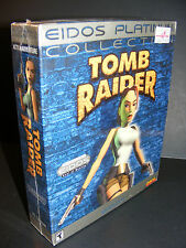 TOMB RAIDER Eidos Platinum Big Box (PC CD-ROM 2000 Video Game) RARE NEW SEALED