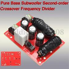 Pure Bass Subwoofer Second-order Crossover Frequency Divider Home Theater DIY