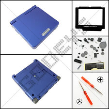 New Blue Nintendo Game Boy Advance SP GBA Casing/Case/Shell/Housing & Buttons