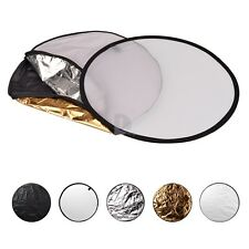 """HOT 5-in-1 24"""" 60cm Light Photography Reflector"""