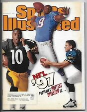 September 1, 1997 Sports Illustrated Magazine-McNair Stewart & Brunell cover!