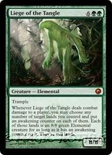 LIEGE OF THE TANGLE Scars of Mirrodin MTG Green Creature — Elemental MYTHIC RARE