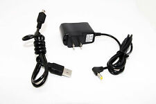 AC/DC Wall Charger Power Adapter +USB Cord for JVC Everio GZ-E10/AU/S GZ-E10BU/S