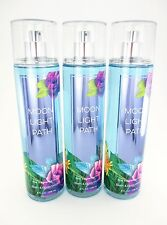 Bath Body Works 3 Moonlight Path Fragrance Mist Body Splash Spray Full Size 8oz