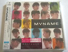 MYNAME Shirayuki CD Limited Edition Japan Press Web Version MY NAME