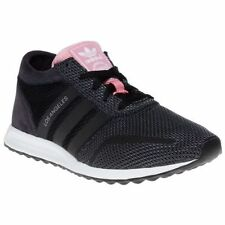 Adidas Originals LOS ANGELES Women's Shoes AF4301 Size 8.5 - Black / Pink