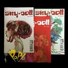 SKYDOLL Sudra #2 VARIANT Cover A B C Set of 3 Titan Comics NM!