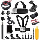 13in1 Essentials Accessories Kit for Gopro Hero 4 Session Black Silver Hero+ LCD