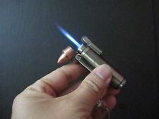 Bullet design jet torch flame windproof flint lighter cool and rare gift