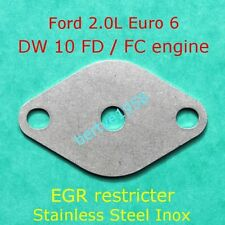 EGR restricter plate Ford Mondeo Kuga Focus 2.0 TDCi Euro6 DW10FD/FC block valve