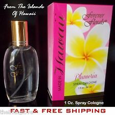 PLUMERIA, 1 Fl. Oz. Spray Cologne by Forever Florals, New In Box, FREE SHIP