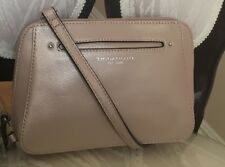 NEW TIGNANELLO ROSE METALLIC BELLA BELT GENUINE LEATHER BAG $109