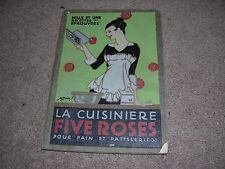 1915 La Cuisiniere Five Roses Cookbook from Canada in French