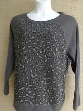 Just My Size 2X Graphic 50/50 Blend Cozy Lighter Weight Sweatshirt Animal Print