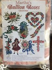 MARTHA PULLEN'S BULLION ROSES- MACHINE EMBROIDERY DESIGNS CD
