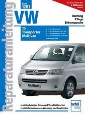 VW T5 MULTIVAN ab 2003 Reparaturbuch Reparaturanleitung Reparatur-Handbuch Buch