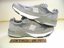 Women's New Balance 993 Grey Suede WR993GL Running Shoes sz 10 2A