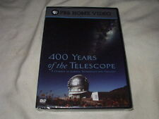 400 Years of the Telescope (2008) DVD NEW PBS Documentary Astronomy Space Sealed